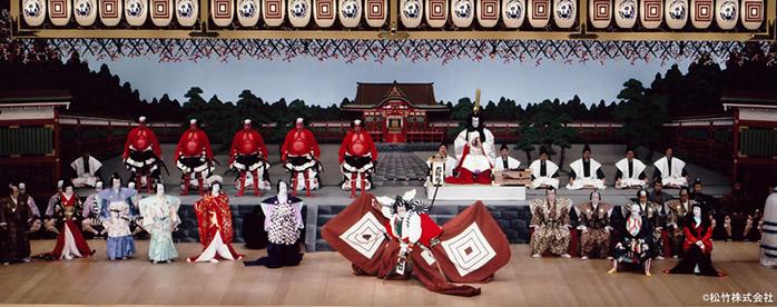 歌舞伎舞台の写真